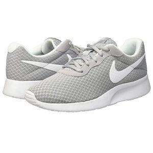 Tanjun Womens Grey White Sneakers